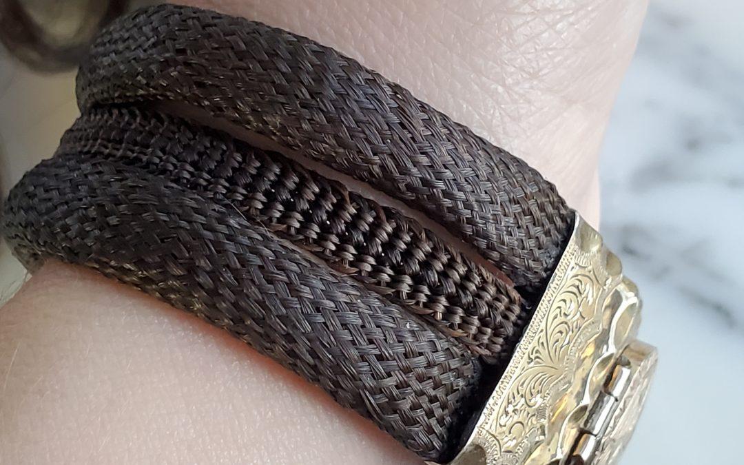Multiple Braid Bracelet with Antique Clasp