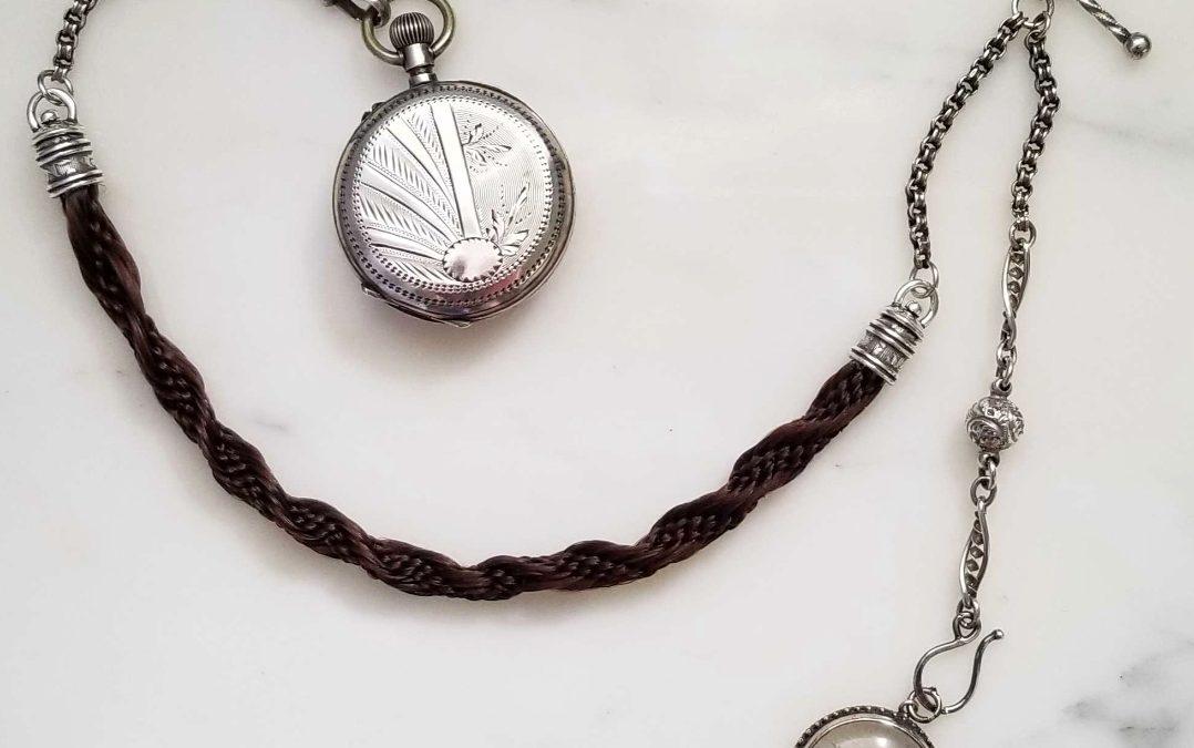Custom Watch Chain with Hair